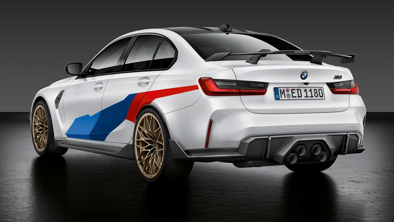 2021 bmw m3 and m4 gain center exhaust