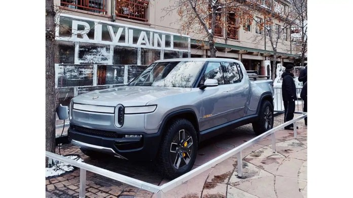 Gm Reportedly Won T Invest In Electric Pickup Truck Startup Rivian