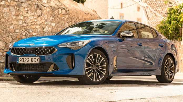 2020 Kia Stinger Gt Line Coming With Sporty Looks For 34 085