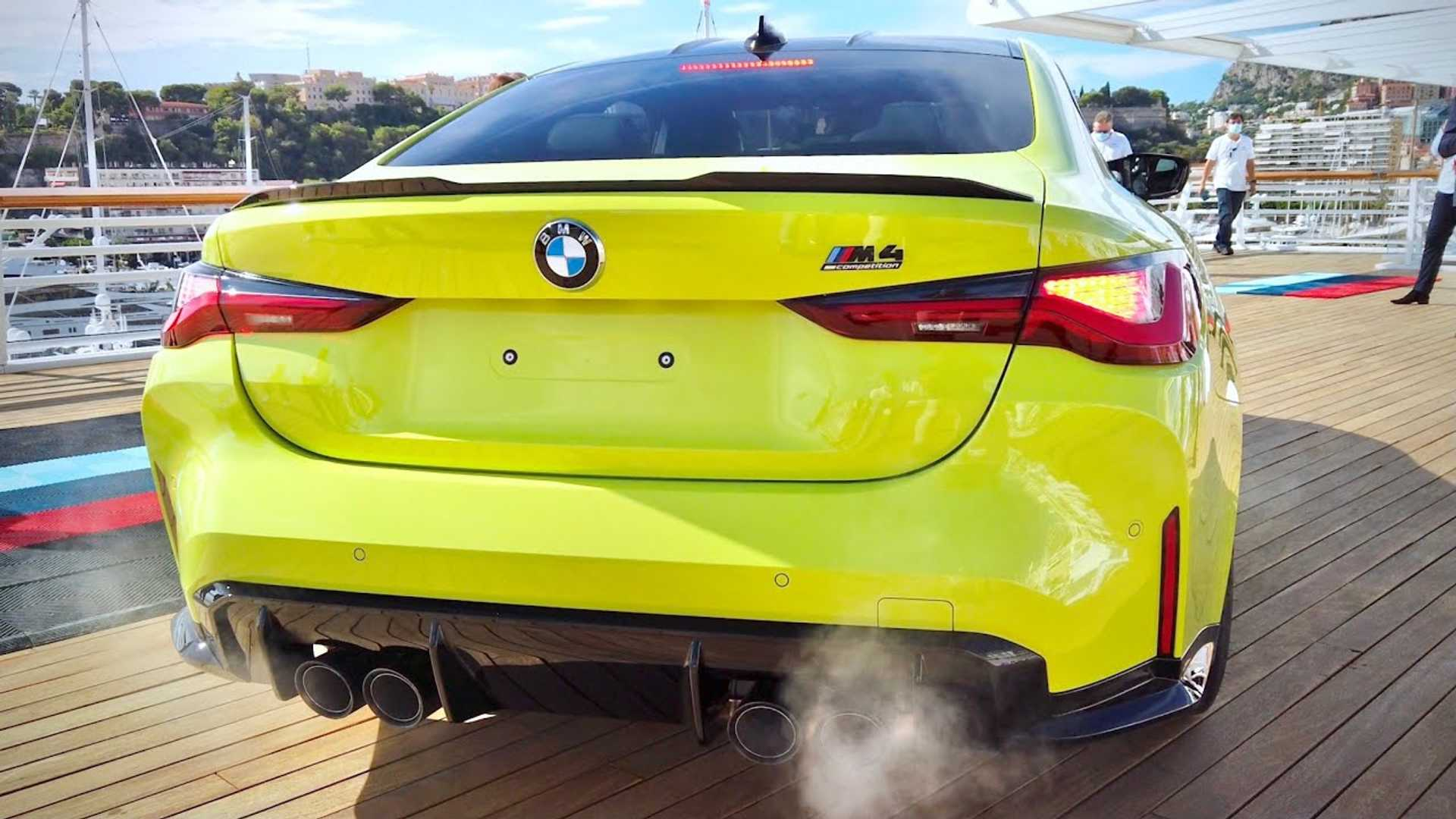 listen to the 2021 bmw m4 competition play its inline six tune