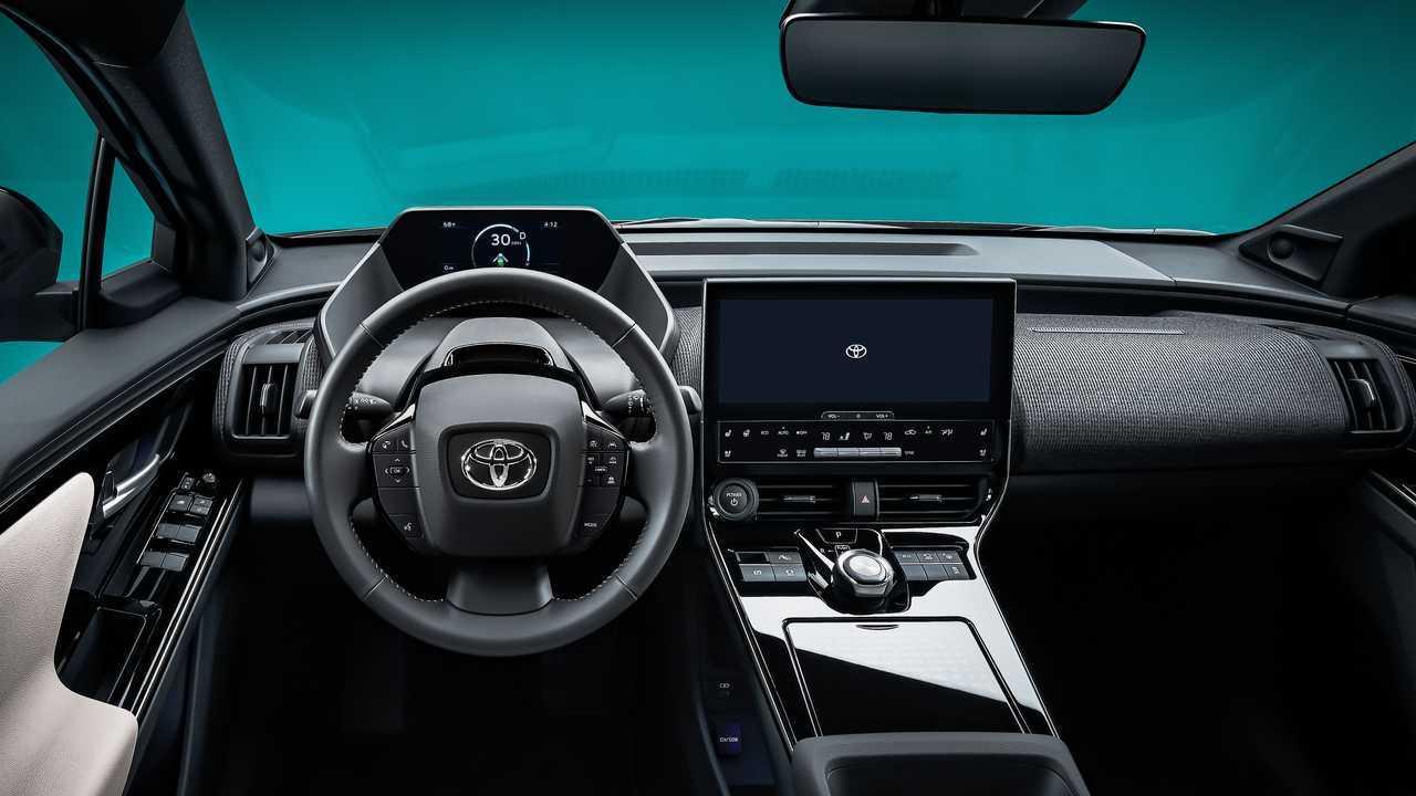 Toyota bZ4X Concept dashboard