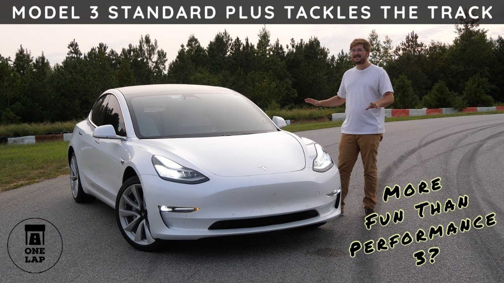 Cheapest Tesla Proves Its No Slouch In One Lap thumbnail