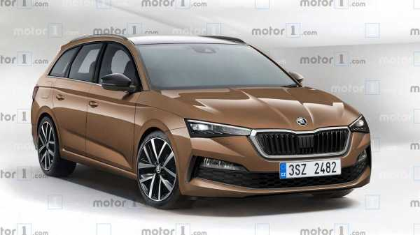 2020 Skoda Octavia Rendered With Sharp Wagon Body