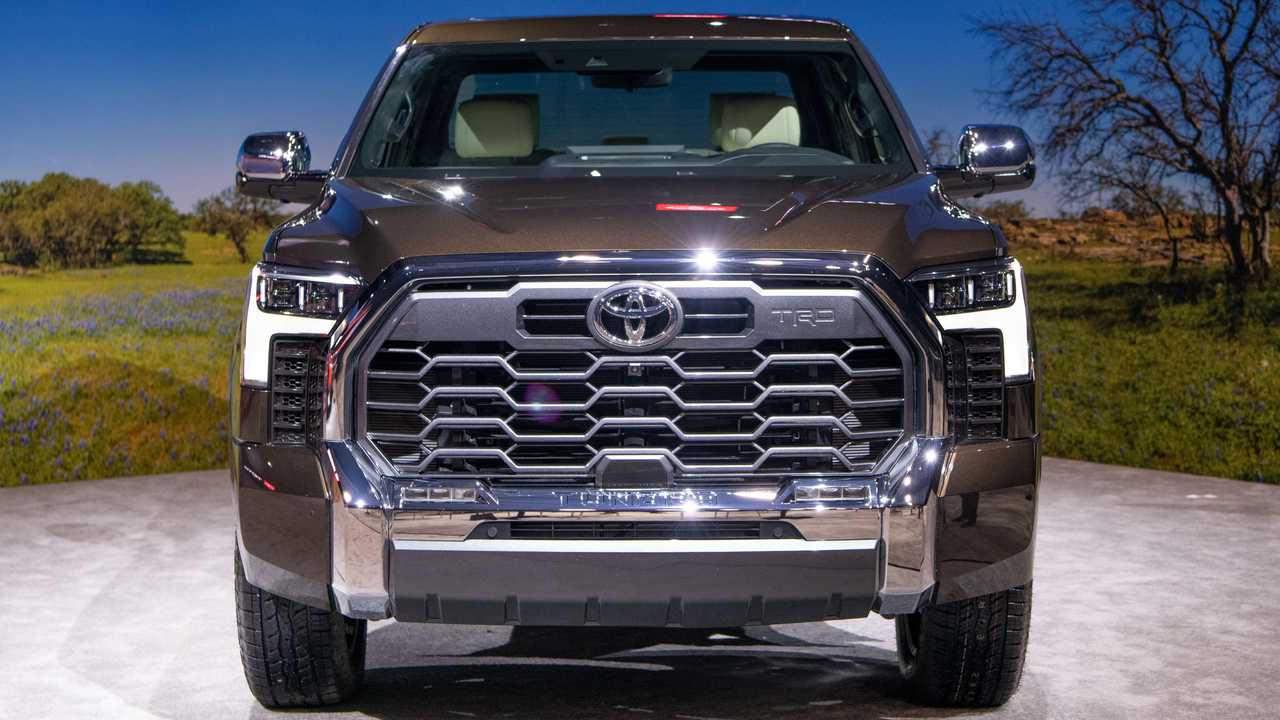 2022 Toyota Tundra 1794 Edition Exterior Front View