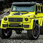 Brutal Brabus G500 4x4 Is Soft And Sumptuous On The Inside