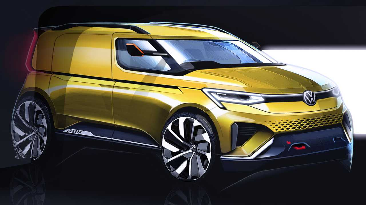 2020 Vw Caddy Teased With Sports Car Looks