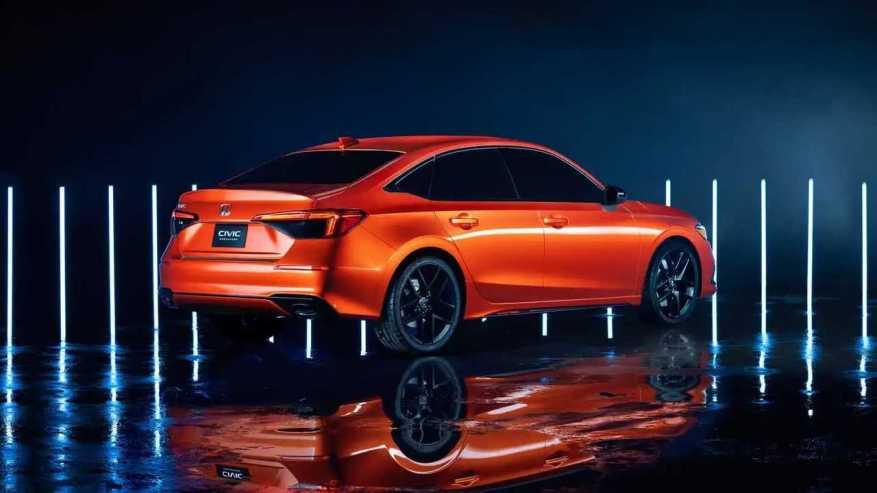 Honda Civic Prototype (2022)