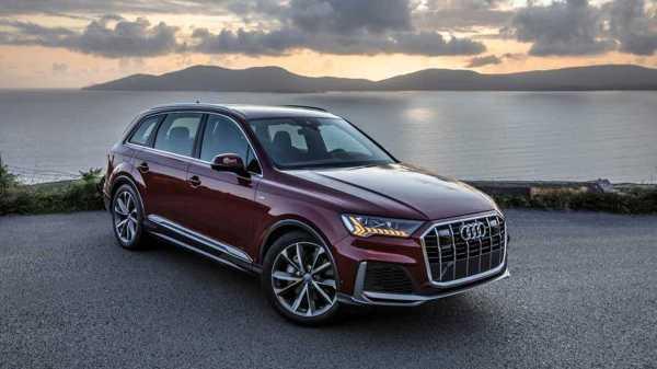 2020 Audi Q7 Matador Red Poses For The Camera To Show Big ...