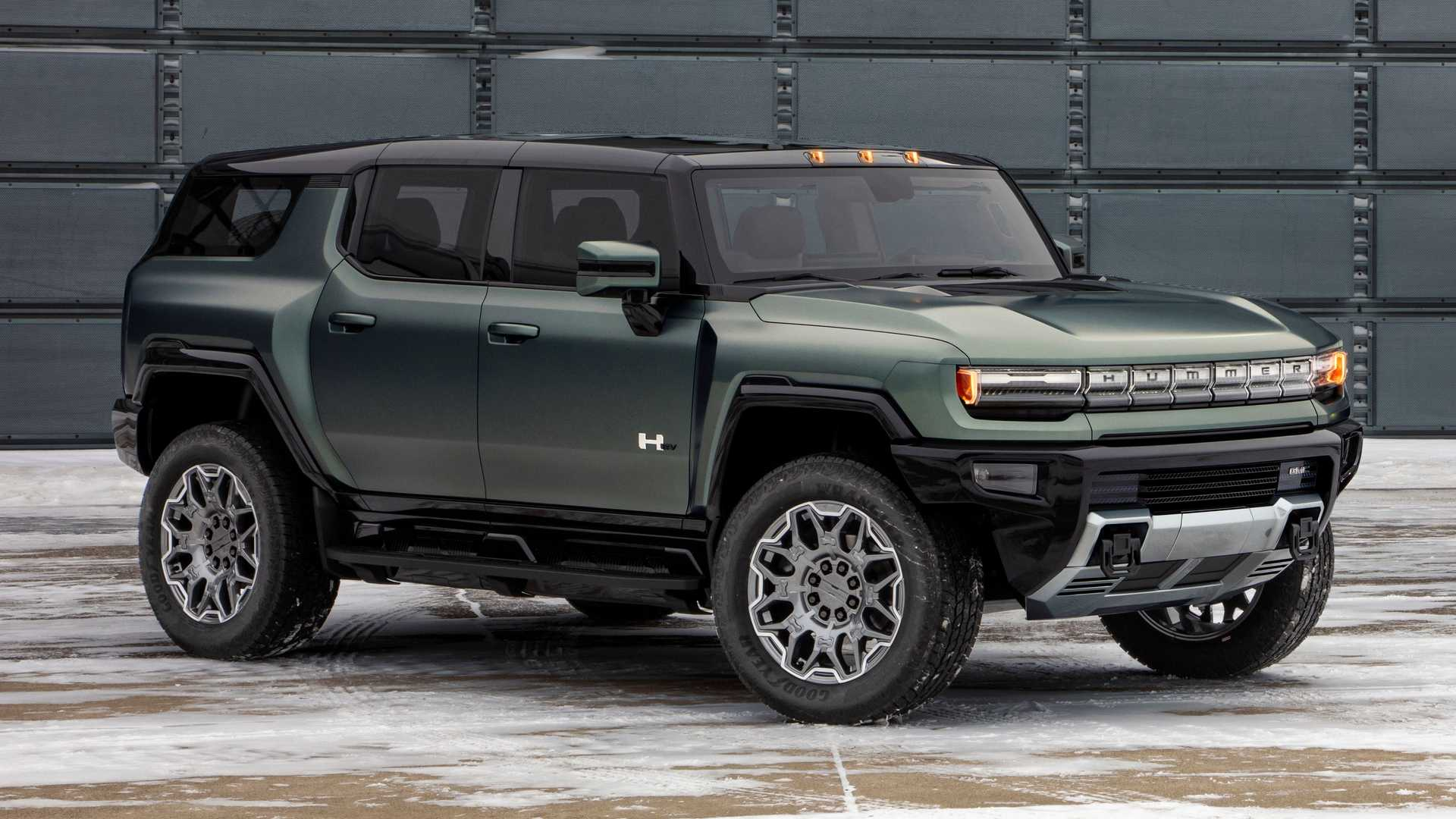2024 GMC Hummer EV SUV delantero