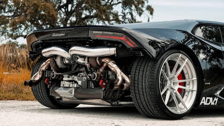 Biturbo Lamborghini Huracán Has 850+ HP And No Rear Bumper