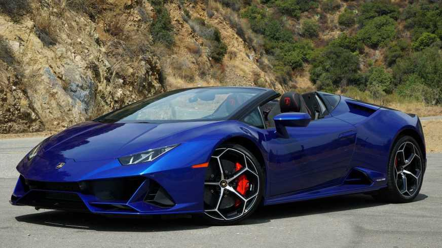 Lamborghini Huracán EVO Spyder 2020, a prueba: ¡una bestia ...