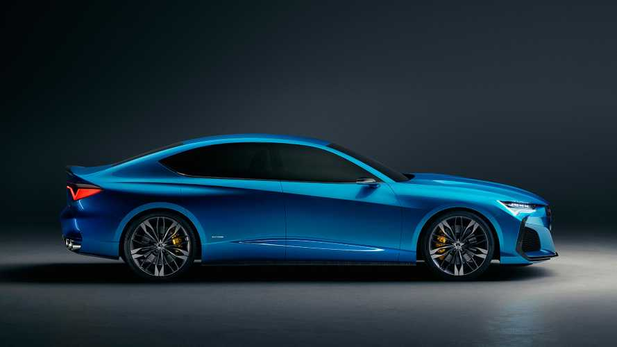 Acura Type S Concept Sedan Motor1 Com Photos