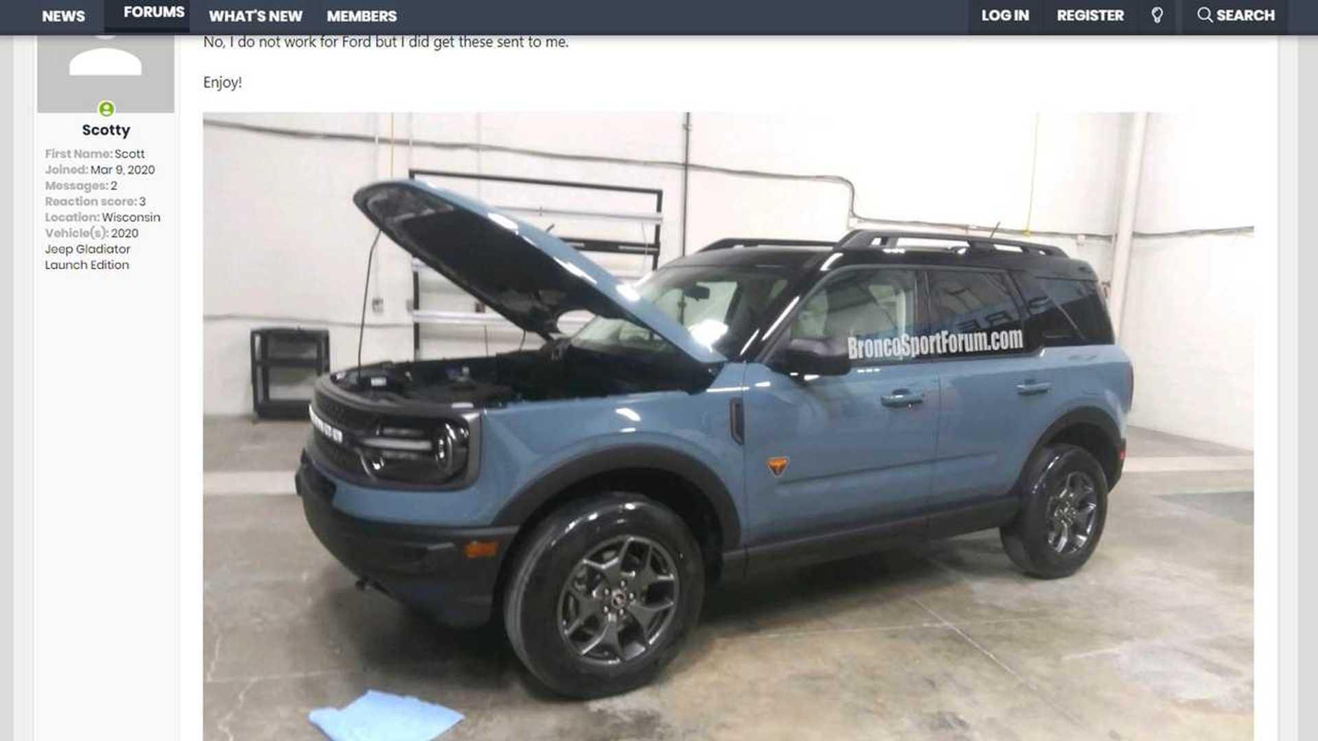 Ford Bronco Sport image screenshot