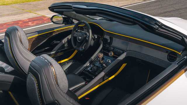 2021 Bentley Bacalar cabin