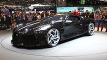 Bugatti The Black Car