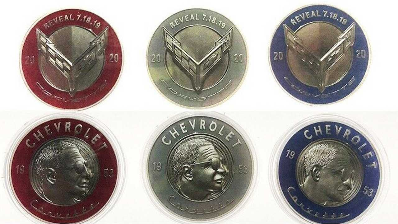 Commemorative C8 Corvette Coins From Debut Ask 1 500 On Ebay
