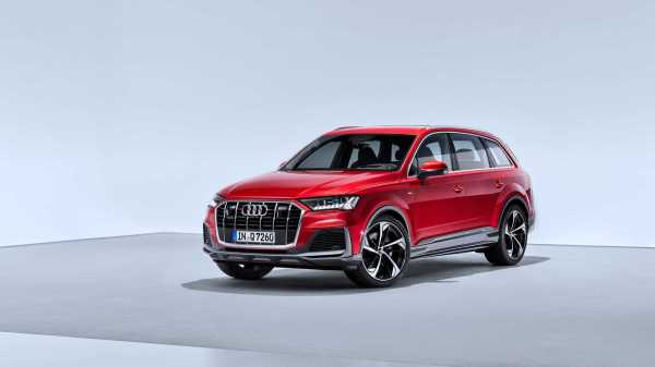 2020 Audi Q7 Facelift Reveals Small Changes Outside, More ...
