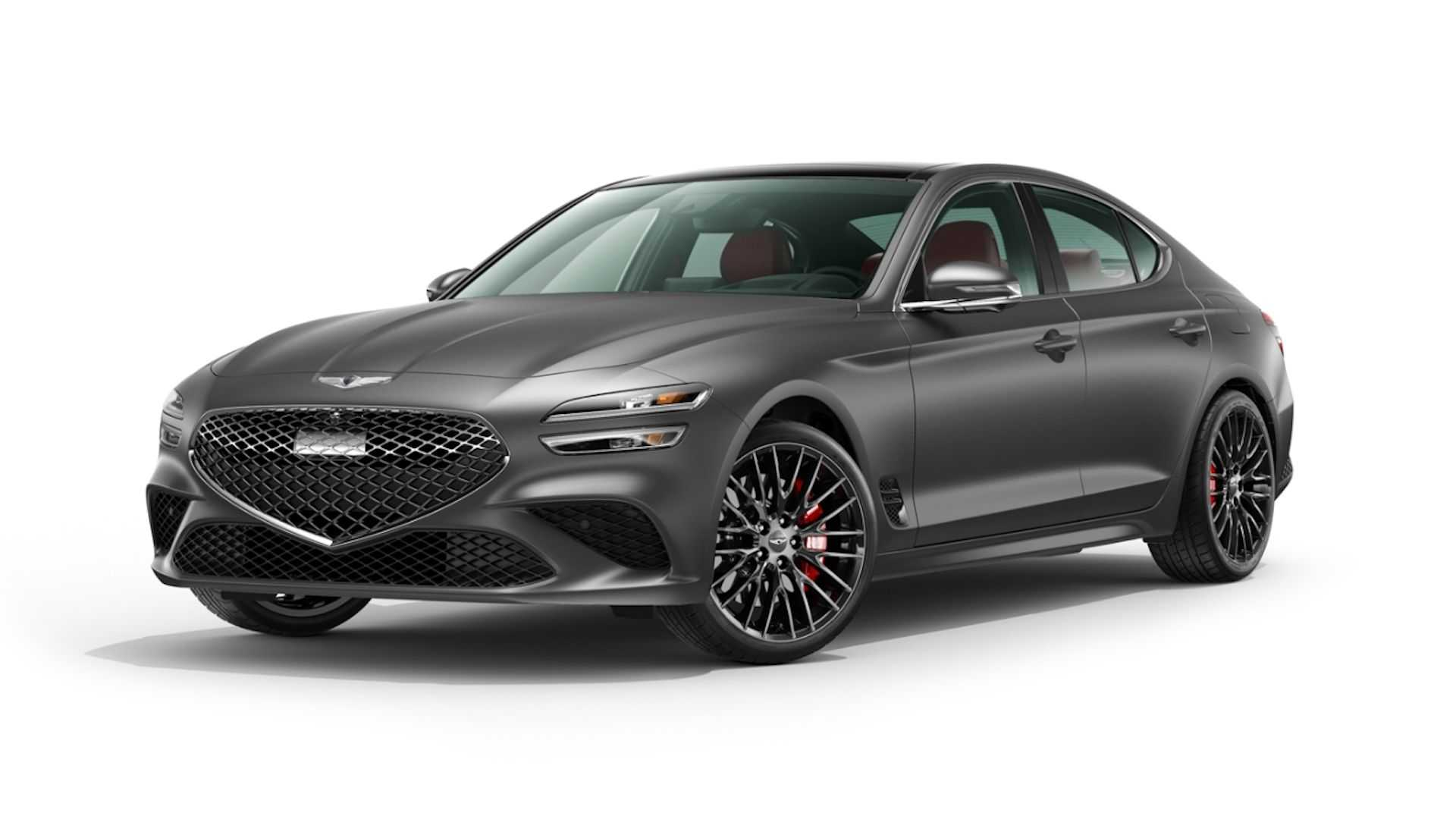 Limited to the launched version of the Genesis G70 from 2022, the reservation is now open