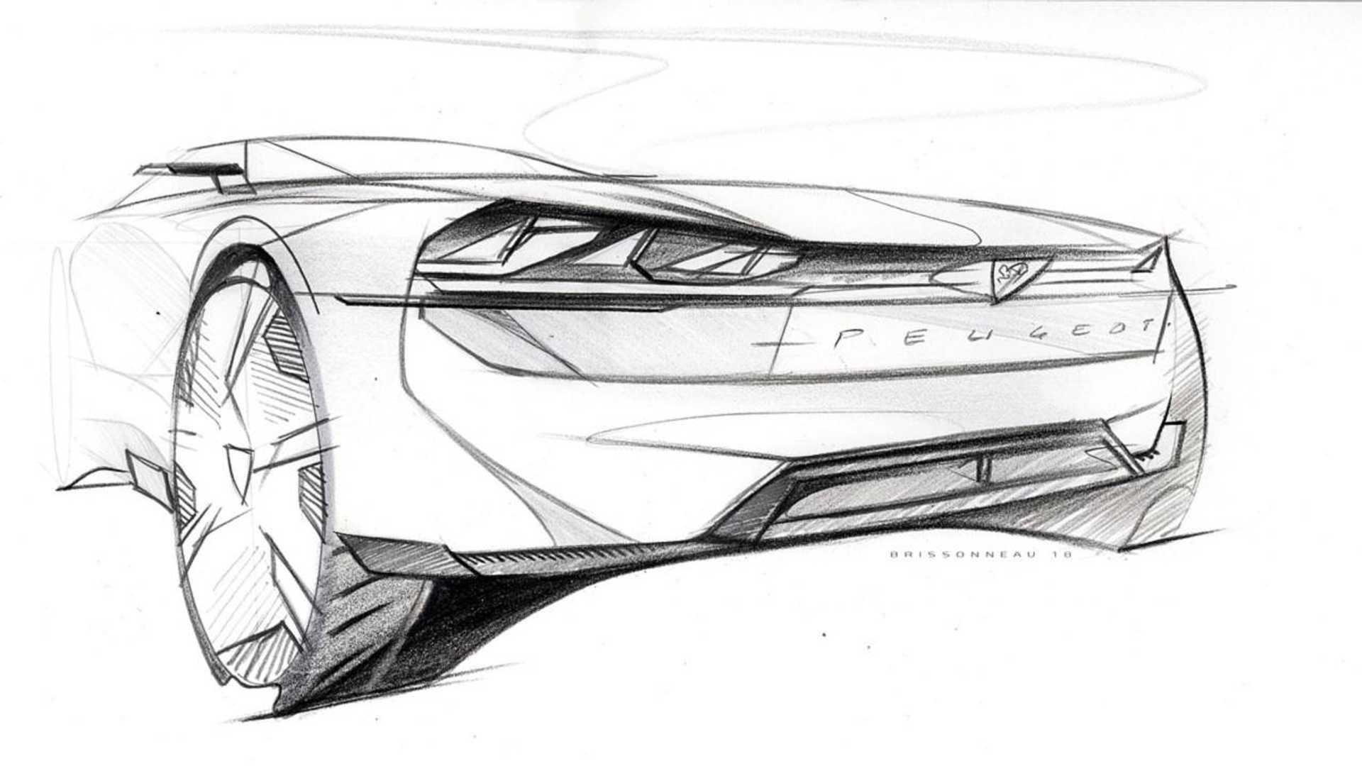 New Peugeot E Legend Concept
