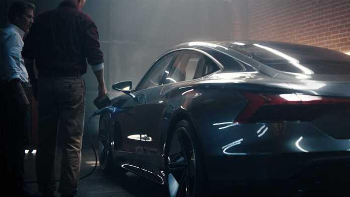 Audi e-tron GT concept Super Bowl Ad