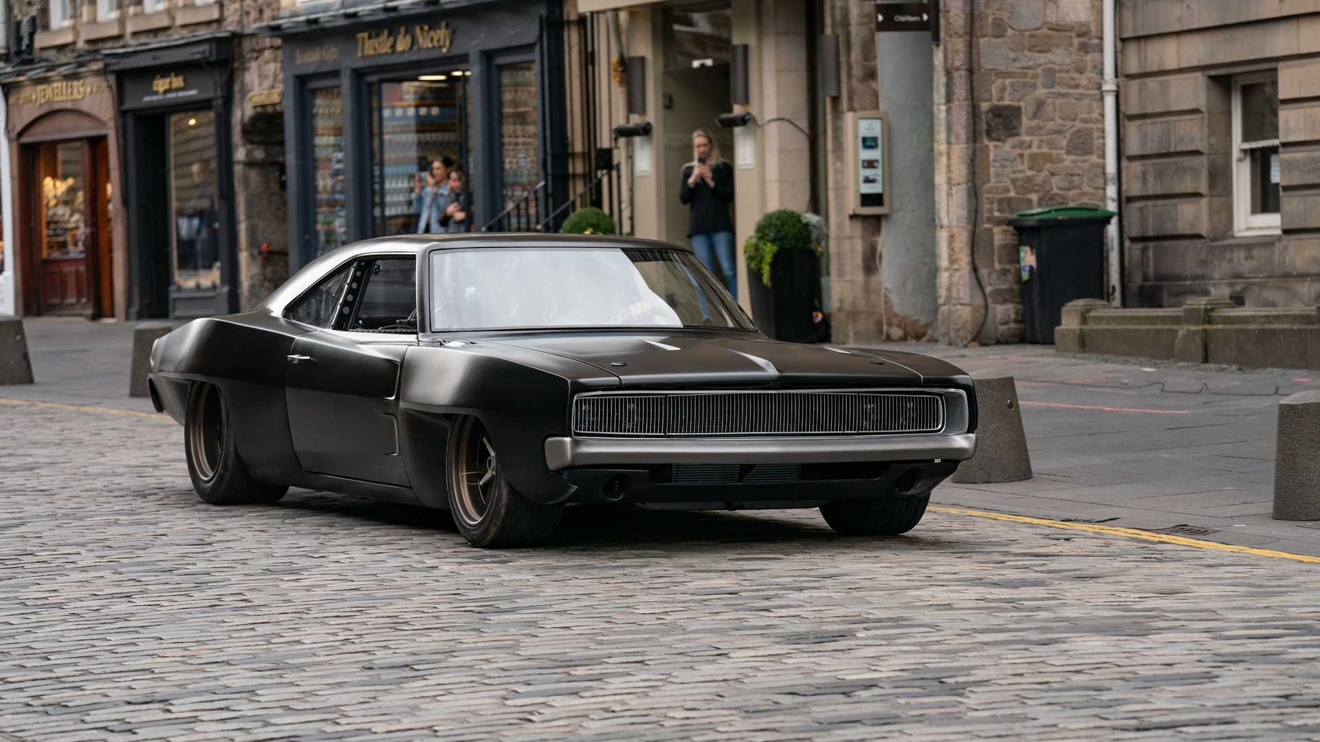 Dom's Mid-Engine 1968 Dodge Charger On Street