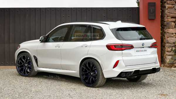 2020 BMW X5 M Puts On Production Clothes In New Renderings