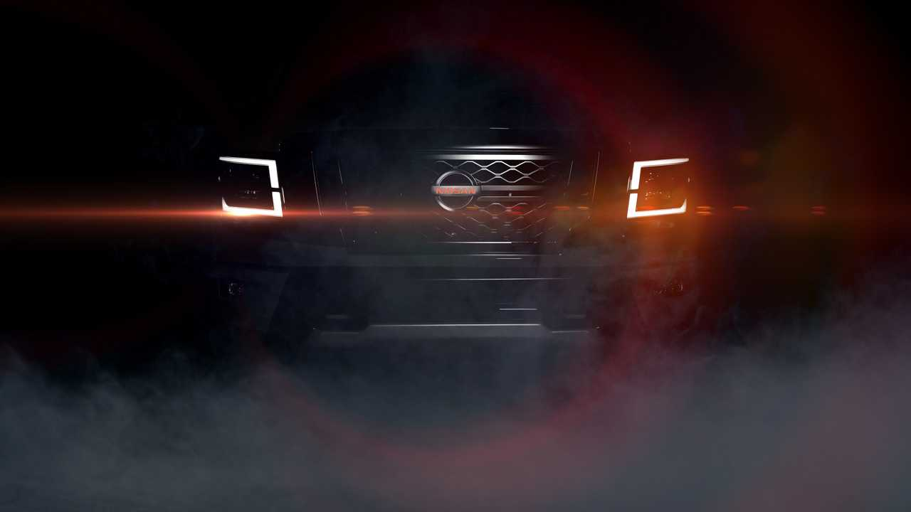 Hot 2020 Nissan Titan Teased Ahead Of September 26th Debut