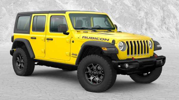Jeep Wrangler Rubicon Xtreme-Trail Rated Is A Mexican Off ...