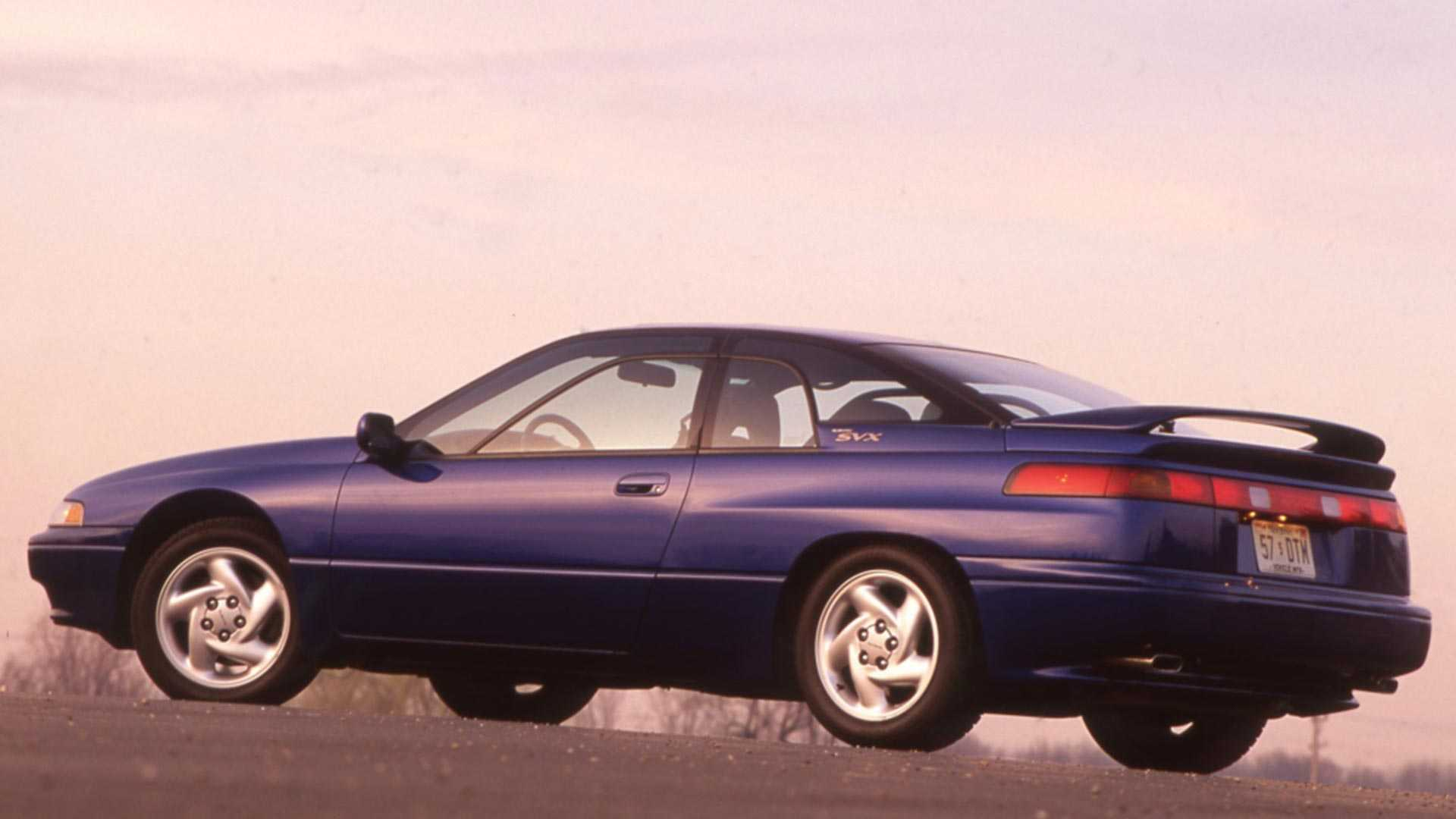 Subaru Svx S Controversial Design Rendered For The Modern