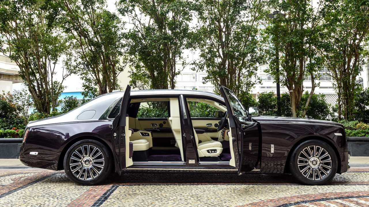 But you can't hear much of anything else, either, apa. Rolls Royce Phantom Seized By Authorities Over Crocodile Leather Interior