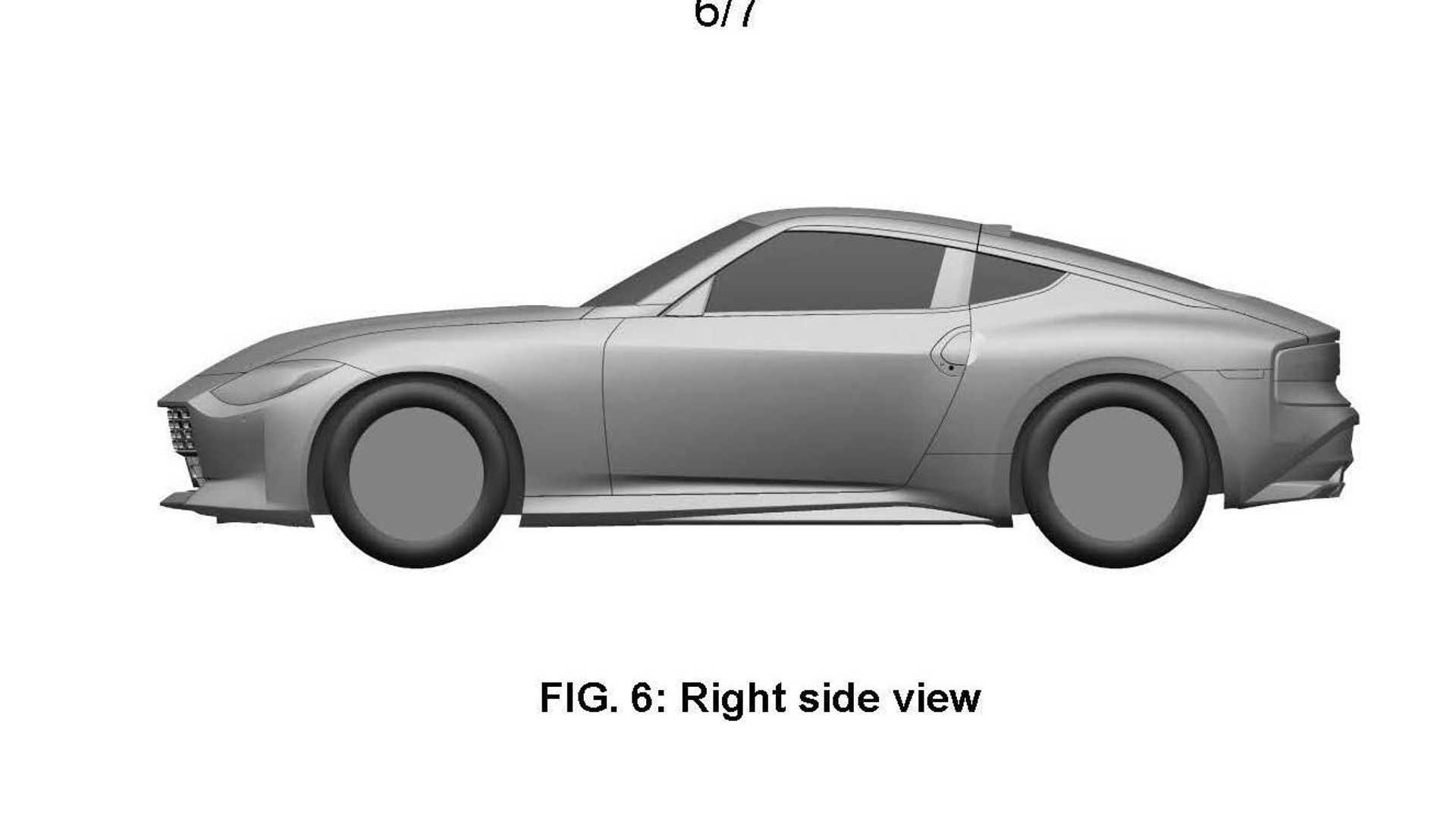 Nissan Z sports car possible production version of patent image