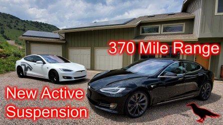 Tesla Model X Raven Vs Used Model X Side By Side Video