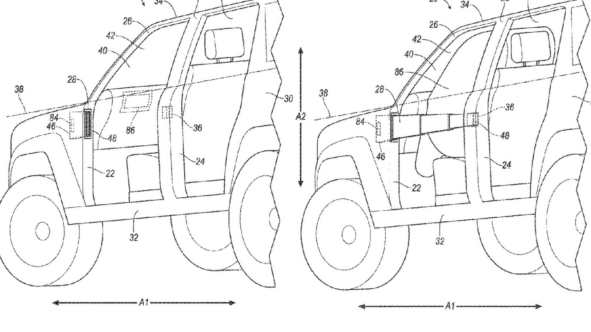 Flipboard Ford Bronco Might Extend Door Barriers In A