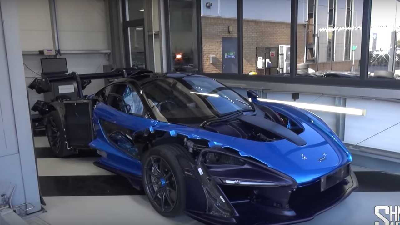 Watch Here S What Happens When You Fix A Damaged Mclaren