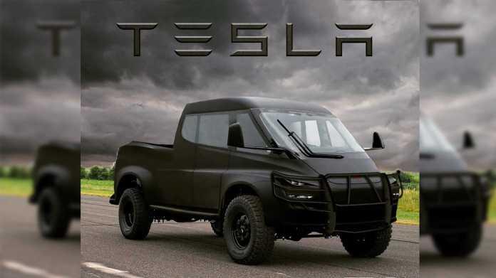 Tesla Truck Render