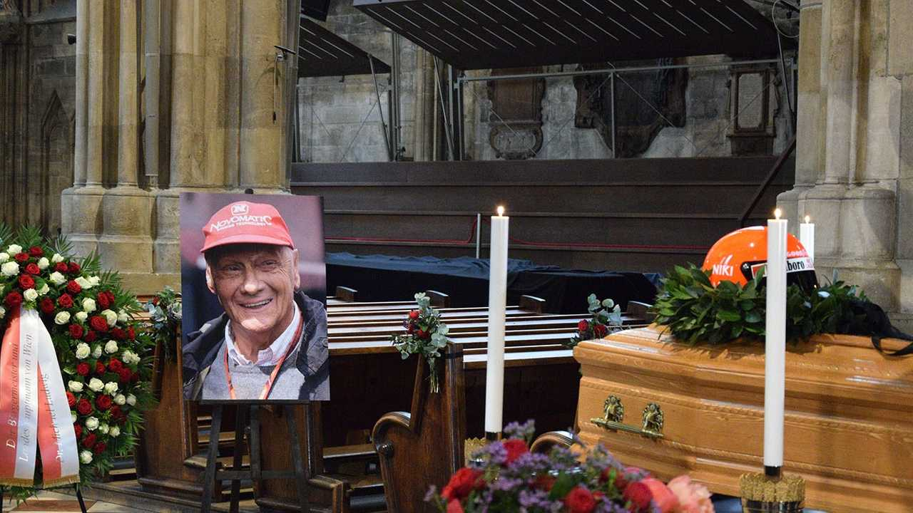 F1 Figures Pay Respects At Lauda Funeral