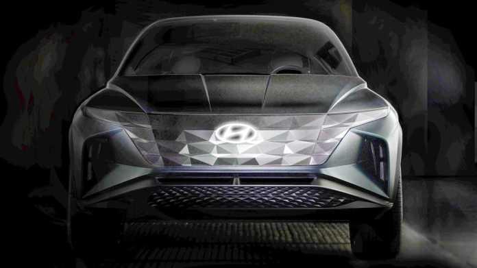 Hyundai plug-in SUV concept teaser (modified)