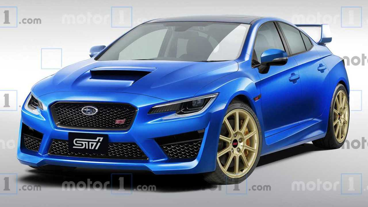 Next Gen Subaru Wrx Sti Rendering Could This Be The 2020 Sti