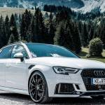 Abt Gives Audi Rs3 Sportback Big Power And Big Wheels
