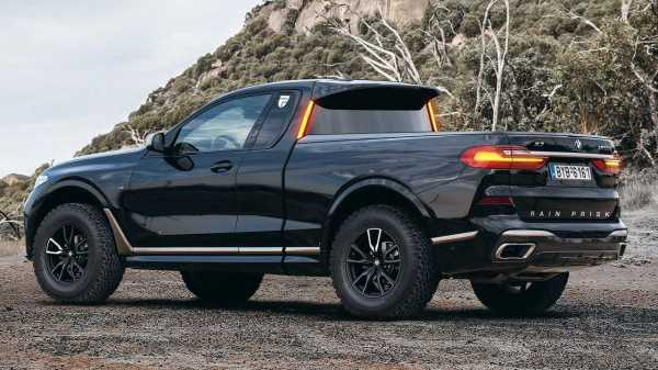 BMW X7 Truck Unofficial Rendering Is… Better Than The Real ...