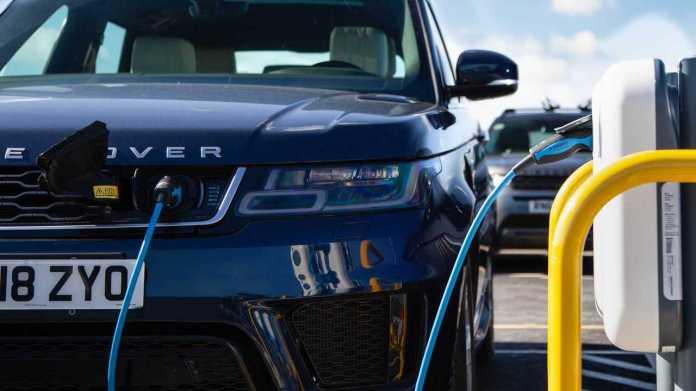 Jaguar Land Rover charging facility