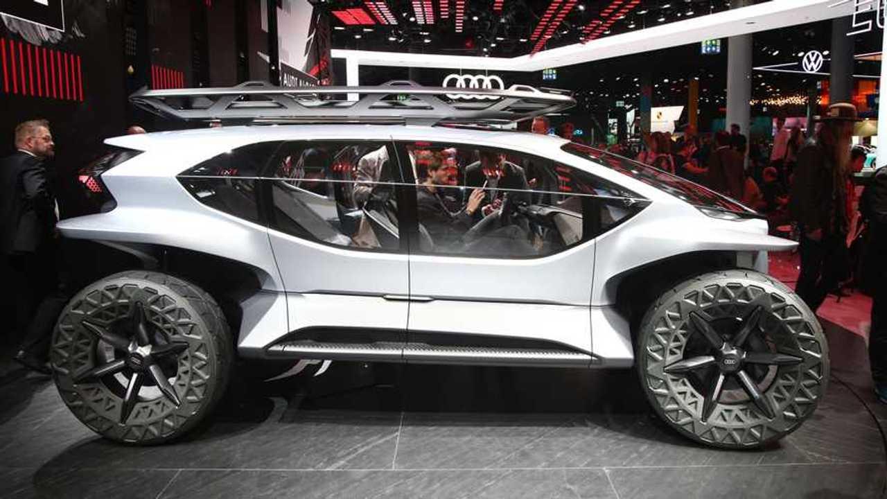 Audi Ai Trail Quattro Concept Previews Future Emission