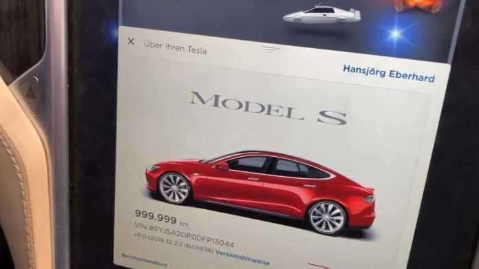 Tesla Model S Reaches One Million Km In Germany