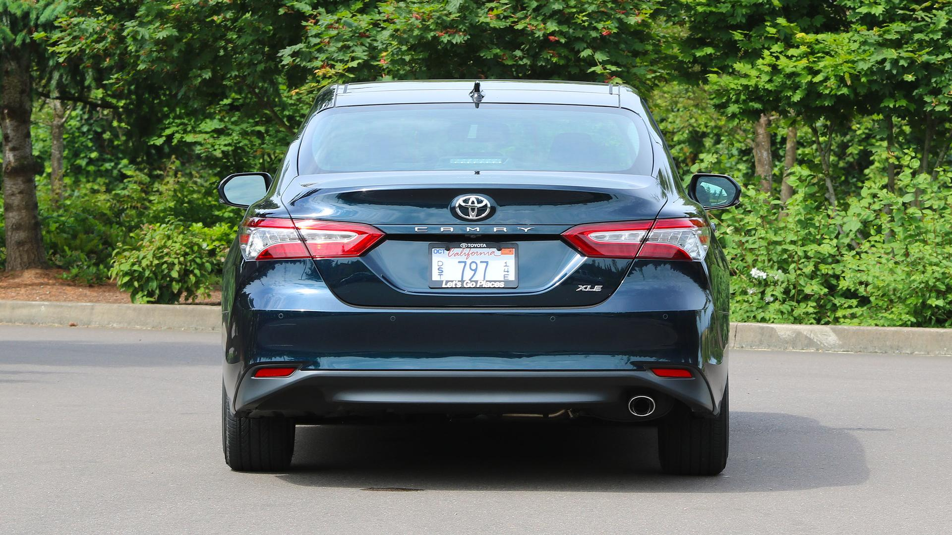 2018 toyota camry first drive the same