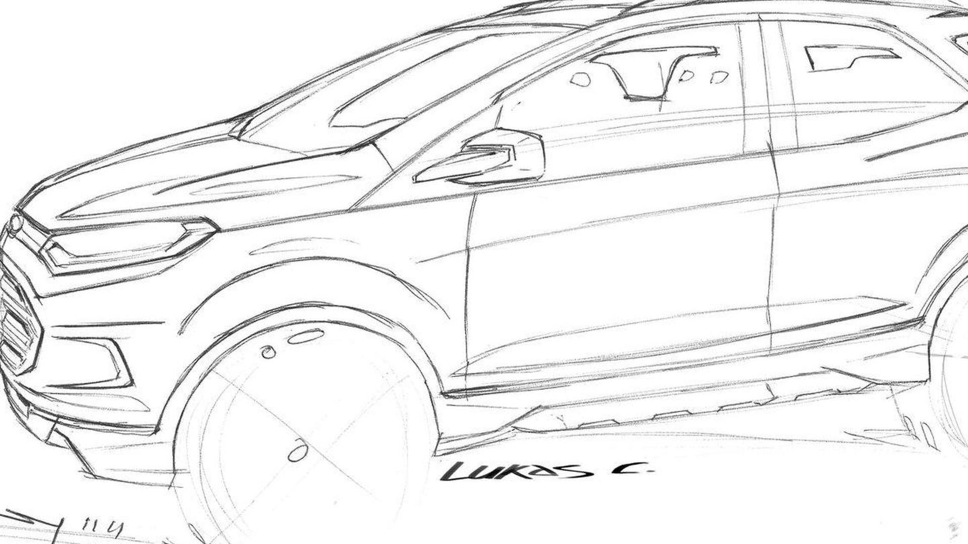 Ford Ecosport Compact Suv Revealed