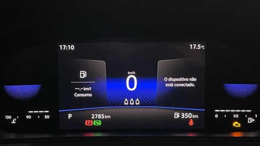 VW Taos Comfortline Dashboard