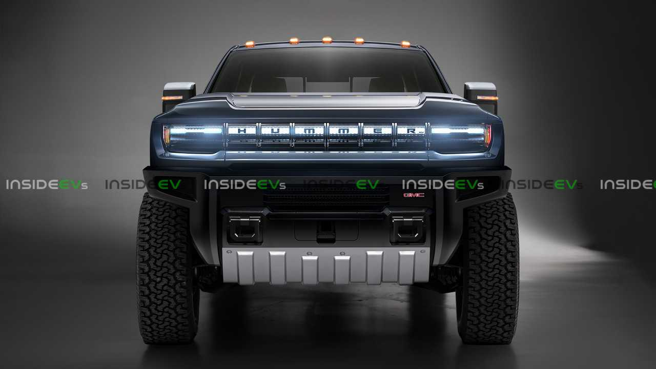 Hummer Electric Pickup Truck Looks Big Amp Rugged In