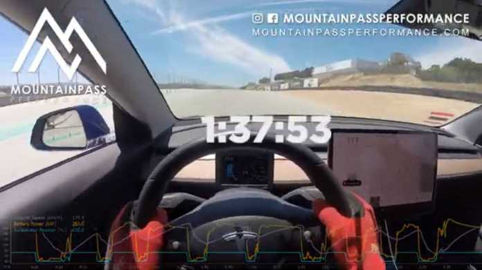 Did A Tesla Model 3 Really Break Laguna Seca's EV Lap Record?