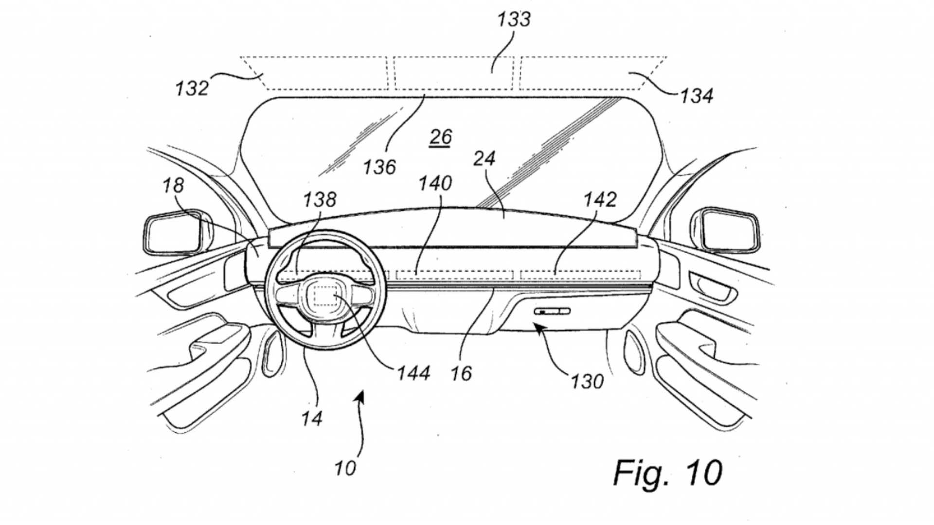 Volvo Patents Steering Wheel That Slides Across A Car S