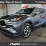 New 2021 Toyota Highlander Xle Fwd Suv En San Juan Y1517665 Triangle Toyota De San Juan